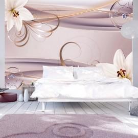 Papel de parede autocolante - Among the Lilies