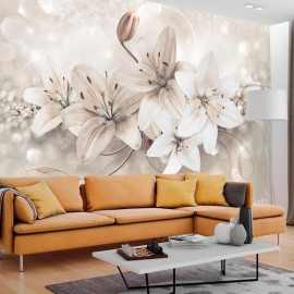 Fotomural autoadhesivo - Diamond Lilies