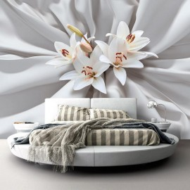 Papel de parede autocolante - Sensual Lilies