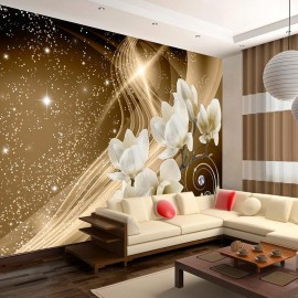 Papel de parede autocolante - Golden Milky Way