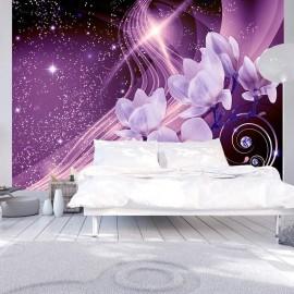 Papel de parede autocolante - Purple Milky Way