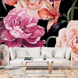 Papel de parede autocolante - Roses of Love