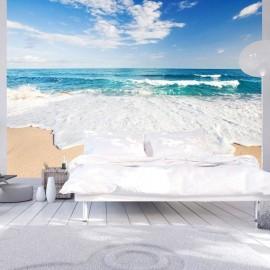 Papel de parede autocolante - Photo wallpaper – By the sea