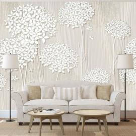Papel de parede autocolante - Creamy Daintiness