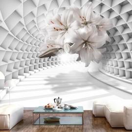 Papel de parede autocolante - Flowers in the Tunnel