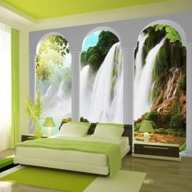 Papel de parede autocolante - Waterfall