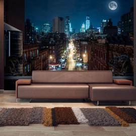 Papel de parede autocolante - Sleepy New York