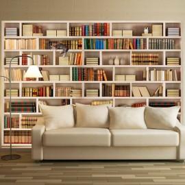 Fotomural autoadhesivo - Biblioteca casera