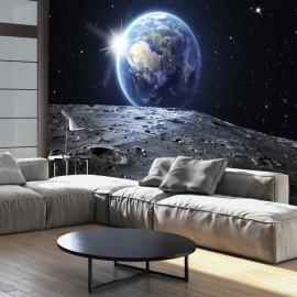 Papel de parede autocolante - View of the Blue Planet
