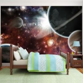 Papel de parede autocolante - Walk in Space