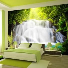 Papel de parede autocolante - Arcadian waterfall