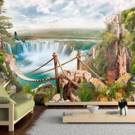 Papel de parede autocolante - Hidden Paradise
