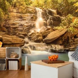 Fotomural autoadhesivo - Sunny Waterfall
