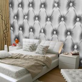 Fotomural autoadhesivo - Silver Luxury