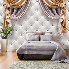 Papel de parede autocolante - Curtain of Luxury
