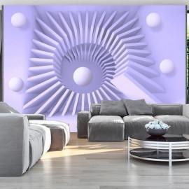 Papel de parede autocolante - Lavender maze