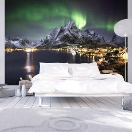 Papel de parede autocolante - Aurora borealis