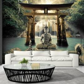 Papel de parede autocolante - Buddha Smile