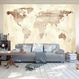Papel de parede autocolante - Precious map