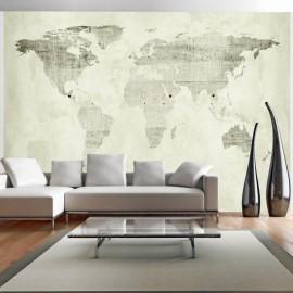 Fotomural autoadhesivo - Continentes verdes
