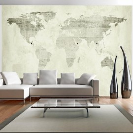 Papel de parede autocolante - Green continents