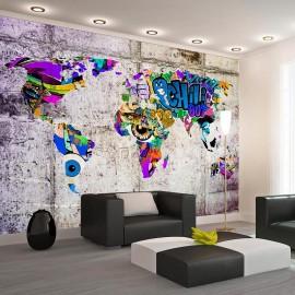 Papel de parede autocolante - Across Colorful World