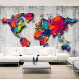 Papel de parede autocolante - Concrete World