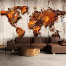 Papel de parede autocolante - World of Bronze