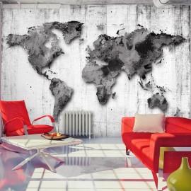Papel de parede autocolante - World in Shades of Gray