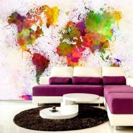 Papel de parede autocolante - Dyed World