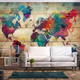 Papel de parede autocolante - Multicolored Nature