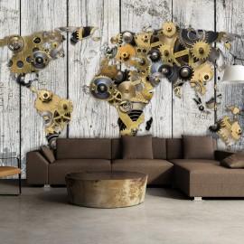 Papel de parede autocolante - Mechanical World