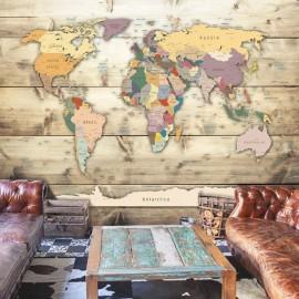 Papel de parede autocolante - The World at Your Fingertips
