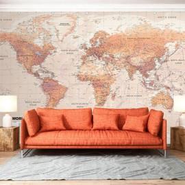 Papel de parede autocolante - Orange World