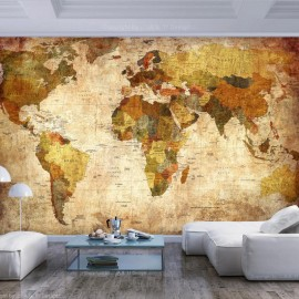 Fotomural autoadhesivo - Old World Map