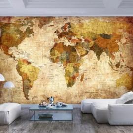 Papel de parede autocolante - Old World Map