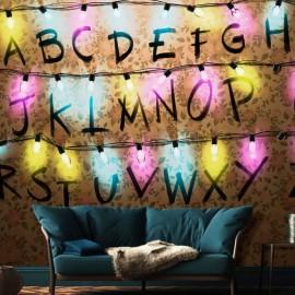Papel de parede autocolante - Strange Message
