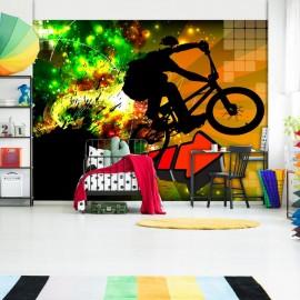 Papel de parede autocolante - Bicycle Tricks