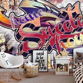 Papel de parede autocolante - Cool Graffiti