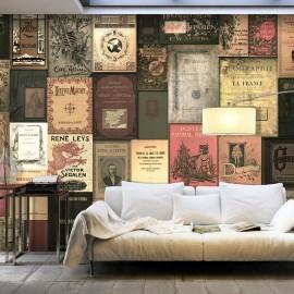 Papel de parede autocolante - Books of Paradise