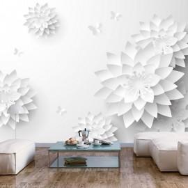 Fotomural autoadhesivo - Oriental Flowers