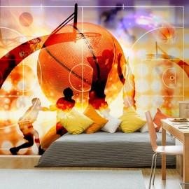 Papel de parede autocolante - Basketball