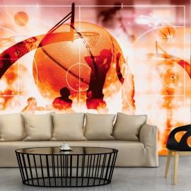 Fotomural autoadhesivo - Mi deporte: baloncesto