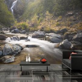 Fotomural - Ohakune - Waterfalls in New Zealand