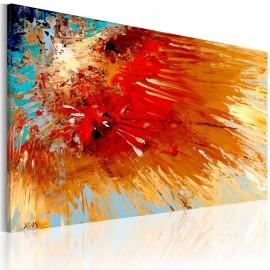 Quadro pintado à mão - Explosão