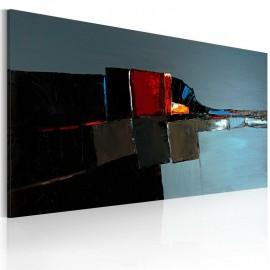 Cuadro pintado - Elefante abstracto