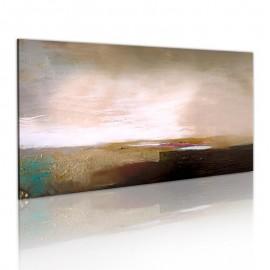 Quadro pintado à mão - Depois da tempestade
