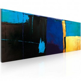 Cuadro pintado - La fascinación por el color azul