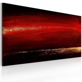 Quadro pintado à mão - Batom vermelho