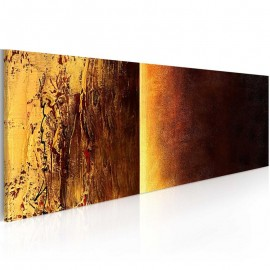 Cuadro pintado - Dos texturas
